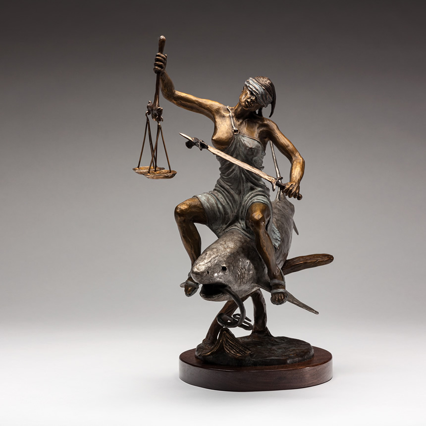 Lady Justice view 1