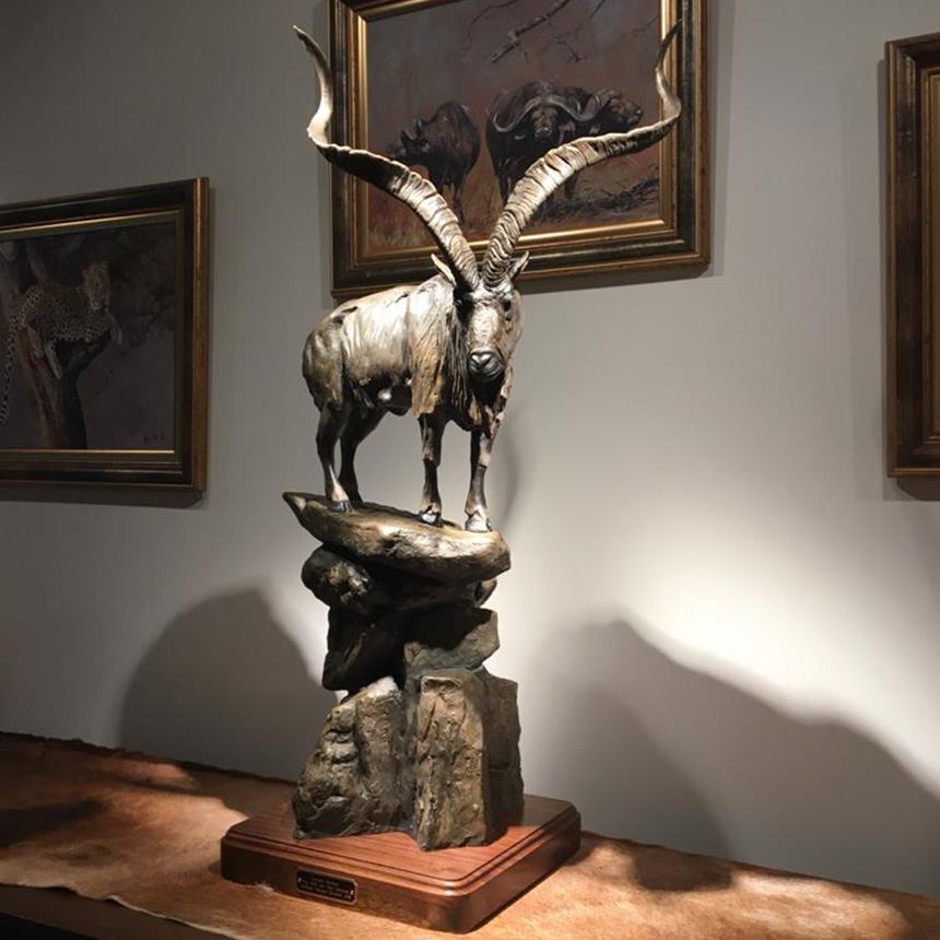 Markhor view 1